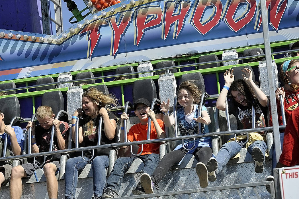 Horace Langford Jr./Pahrump Valley Times The carnival portion of the Pahrump Fall Festival is always a crowd-favorite among the younger attendees of the fall festival. Festivities continue through ...