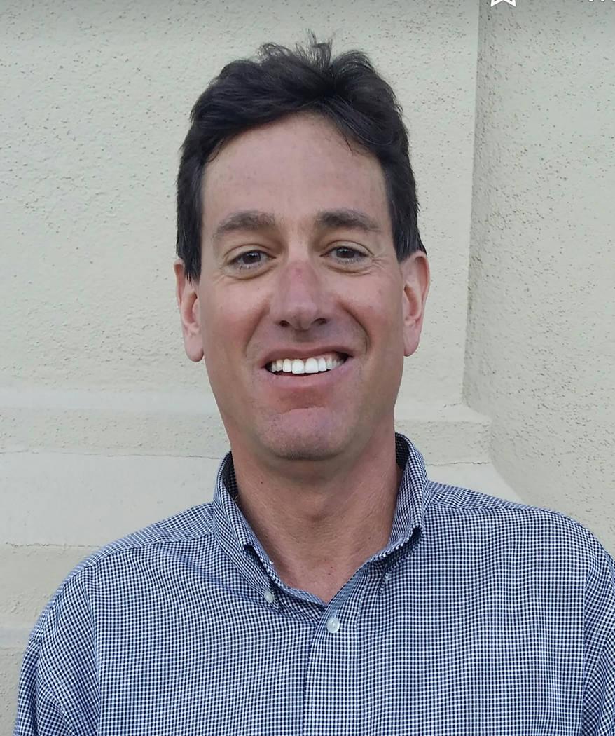 Melissa Roberts/Tonopah Times-Bonanza & Goldfield News David Jacobs, editor at the Pahrump Valley Times and Tonopah Times-Bonanza & Goldfield News.