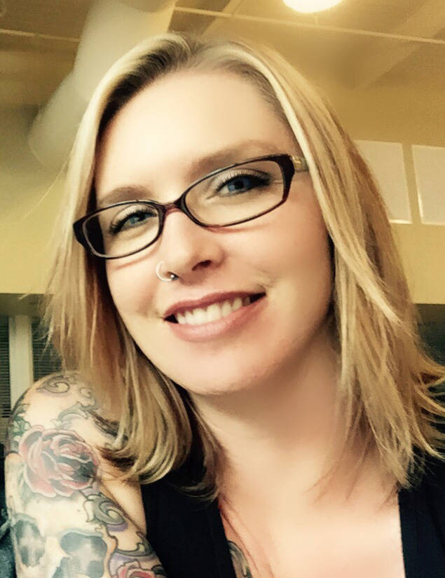 Special to the Pahrump Valley Times Heather Ruth, graphic designer at the Pahrump Valley Times and Tonopah Times-Bonanza & Goldfield News.