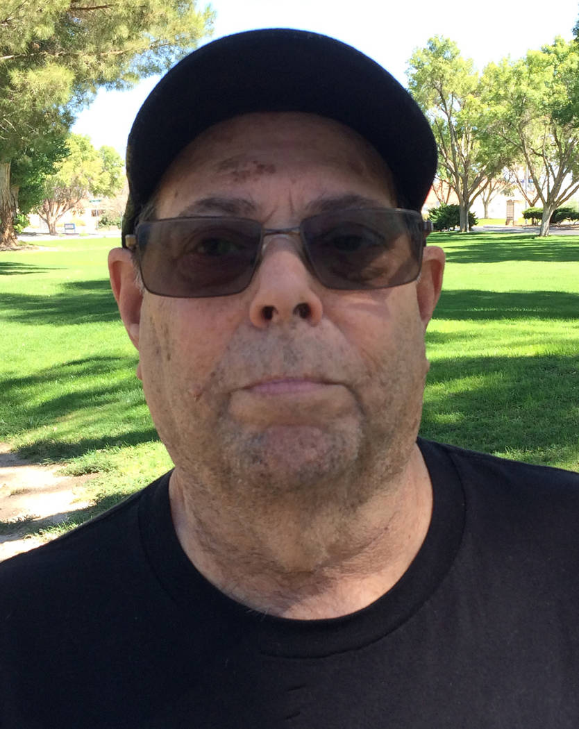 Robin Hebrock/Pahrump Valley Times Richard Goldstein is the only Democrat to throw his hat in the ring for the Nye County Commission District 4 seat. His name will appear for the first time on the ...