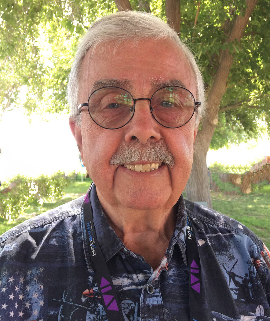 Robin Hebrock/Pahrump Valley Times Nye County Independent American Party Chairman Andy Alberti wants to serve as the next Nye County Assessor.