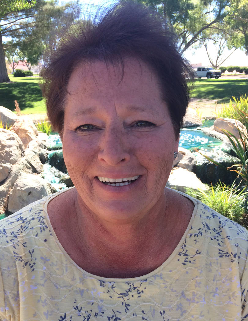 Robin Hebrock/Pahrump Valley Times Incumbent assessor Sheree Stringer, a Republican, must fend off Alberti's bid for election in order to retain her seat.