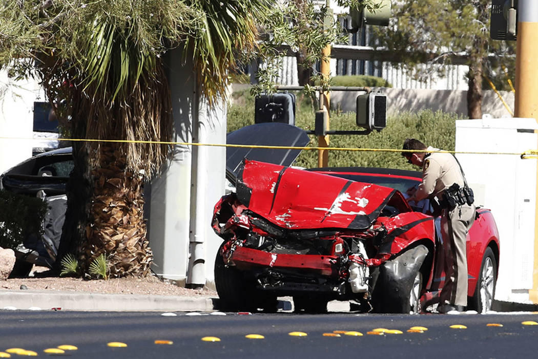 Bizuayehu Tesfaye/Las Vegas Review-Journal The U.S. Department of Transportation's National Highway Traffic Safety Administration this week provided updated information on motor vehicle fatalities.