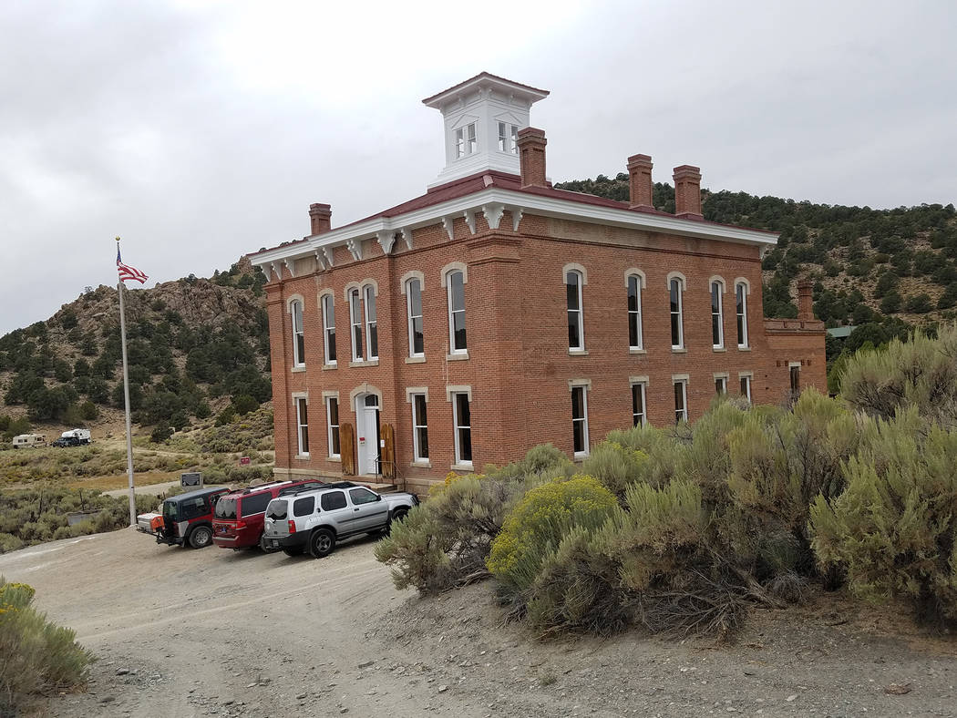 David Jacobs/Times-Bonanza & Goldfield News The Nye County Commission approved a $50,000 donation for Friends of the Belmont Courthouse, with the money dedicated to the continued stabilization and ...