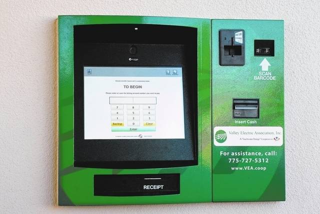 Special to the Pahrump Valley Times Valley Electric Association is planning to open three new EasyPay kiosks in Sandy Valley, Amargosa Valley and Beatty. A kiosk at Valley's warehouse in Sandy Val ...