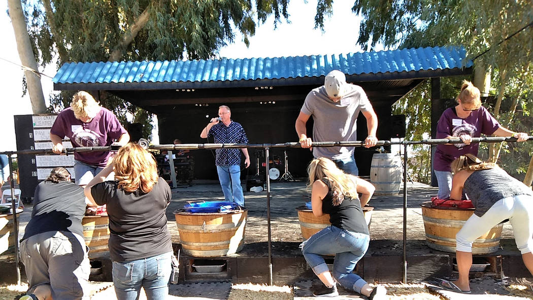 """Selwyn Harris/Pahrump Valley Times 150 teams competed over the weekend. """"They get all sloppy and sticky and all they receive is a cheap plastic trophy, but it's all about bragging rights,"""" win ..."""