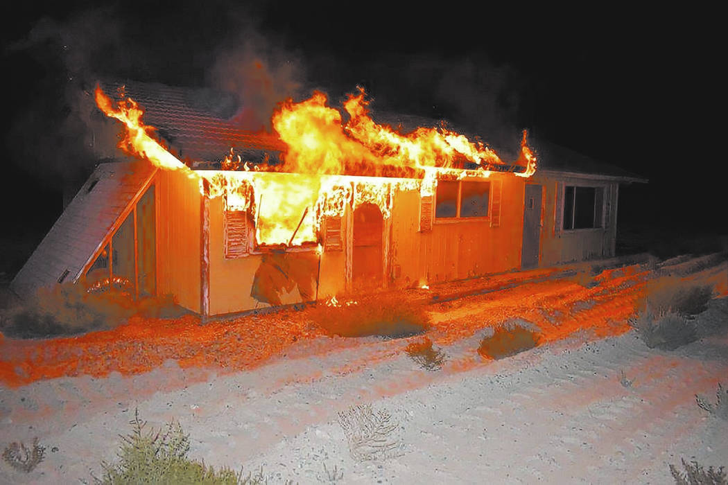 Special to the Pahrump Valley Times On Friday September 28, fire crews were summoned to the 4500 block of South Homestead for a reported structure fire just after 11 p.m. The fire, according to Ch ...