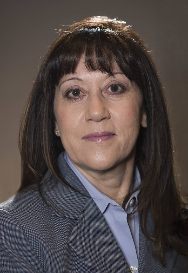 Special to the Pahrump Valley Times/Valley Electric Association Angela Evans, who was named interim CEO of Valley Electric Association in May, was named CEO of the co-op on Friday. Evans joined t ...