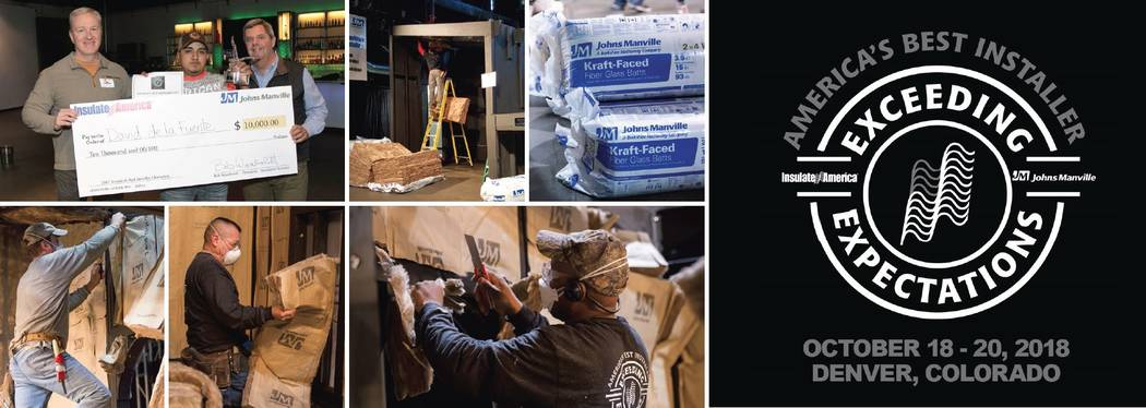 Special to the Pahrump Valley Times The 16th annual America's Best Insulation Installer Competition header. The three-day competition is set to be in Denver, Colorado and is set to include one l ...