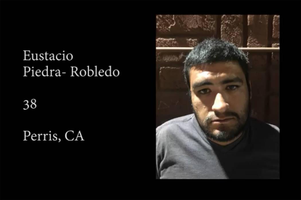 Eustacio Piedra-Robledo (Nye County Sheriff's Office/Facebook)