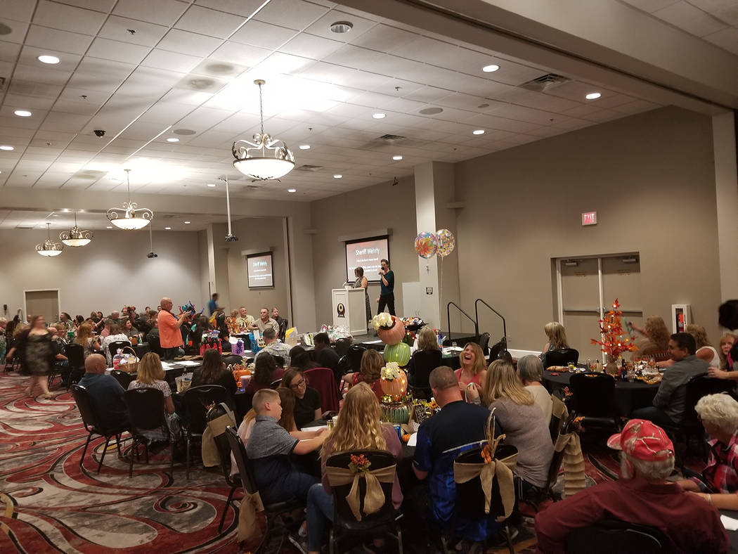 David Jacobs/Pahrump Valley Times This year's event was held Saturday in the Pahrump Nugget Hotel and Casino Events Center.