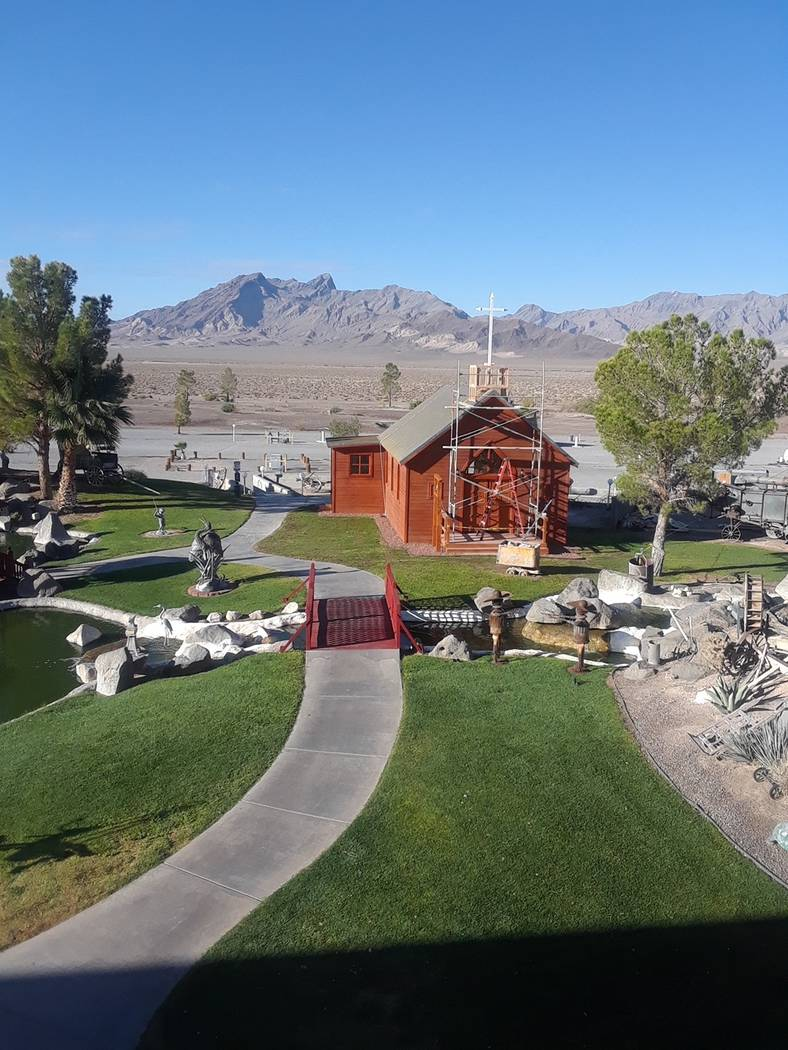 Special to the Pahrump Valley Tmes The Longstreet Inn Casino & RV Resort in Amargosa Valley is getting ready to open a new wedding chapel. The casino-hotel at 4400 S. Highway 373 is planning a d ...