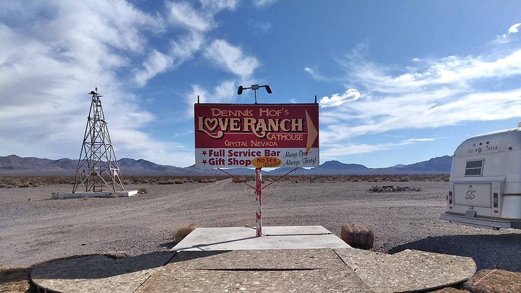 """Selwyn Harris/Pahrump Valley Dennis Hof's Chief of Staff Zack Hames who literally shadowed Hof during area campaign stops, said Hof's brothel business will continue operating. """"We're going ..."""