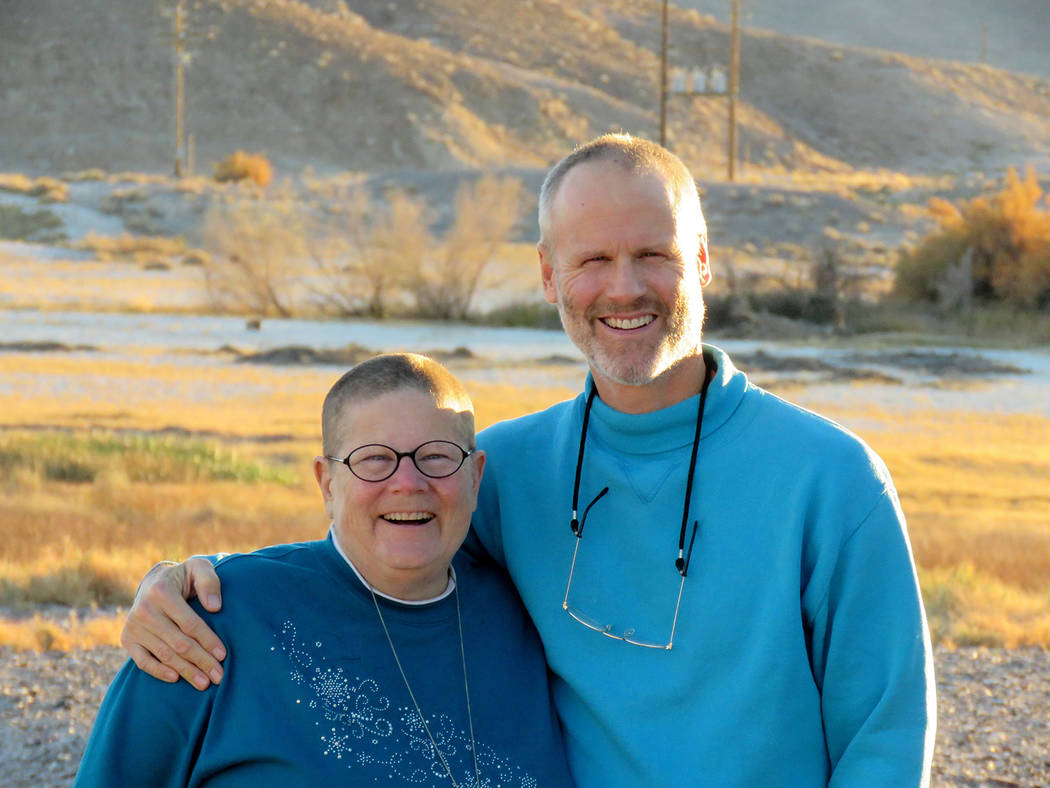 Special to the Pahrump Valley Times Robin Powers and her husband Mike both decided to volunteer to help set up and tear down the Remote Area Medical event this year, after Robin received free medi ...