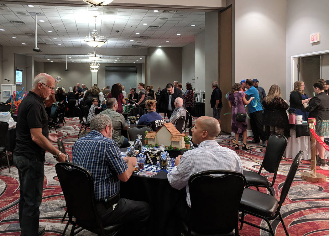 Jolina Mackool/Special to the Pahrump Valley Times The Nye County Celebrity Auction was a sold-out event with 120 total attendees.