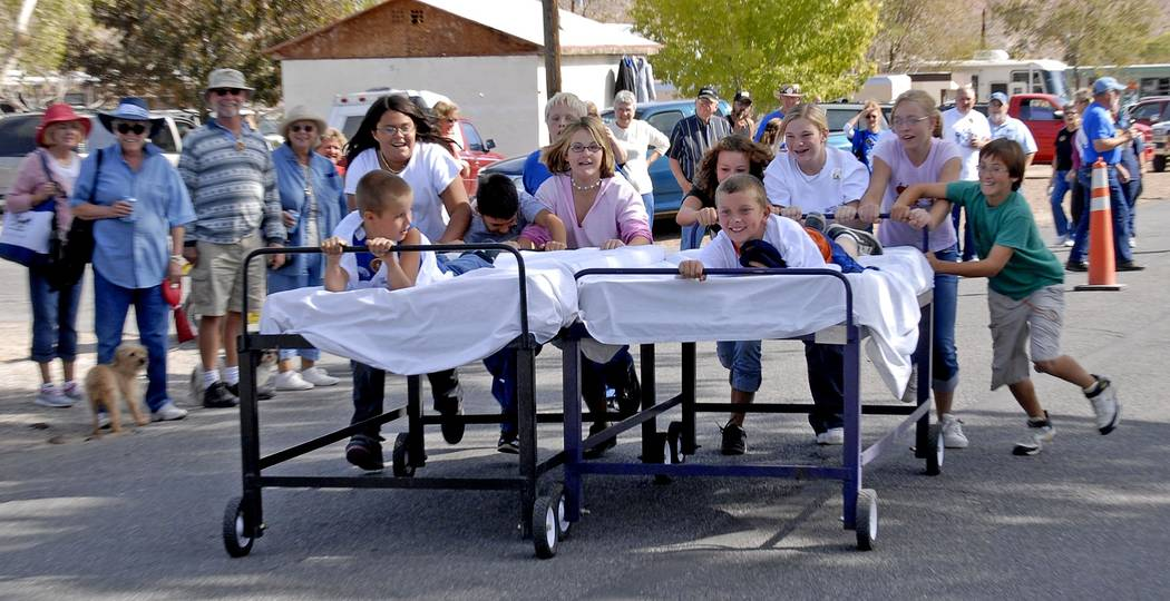 Richard Stephens/Special to the Pahrump Valley Times Bed races event at a prior Beatty Days as shown in a file photo. Multiple events are planned as Beatty Days get underway later this week.