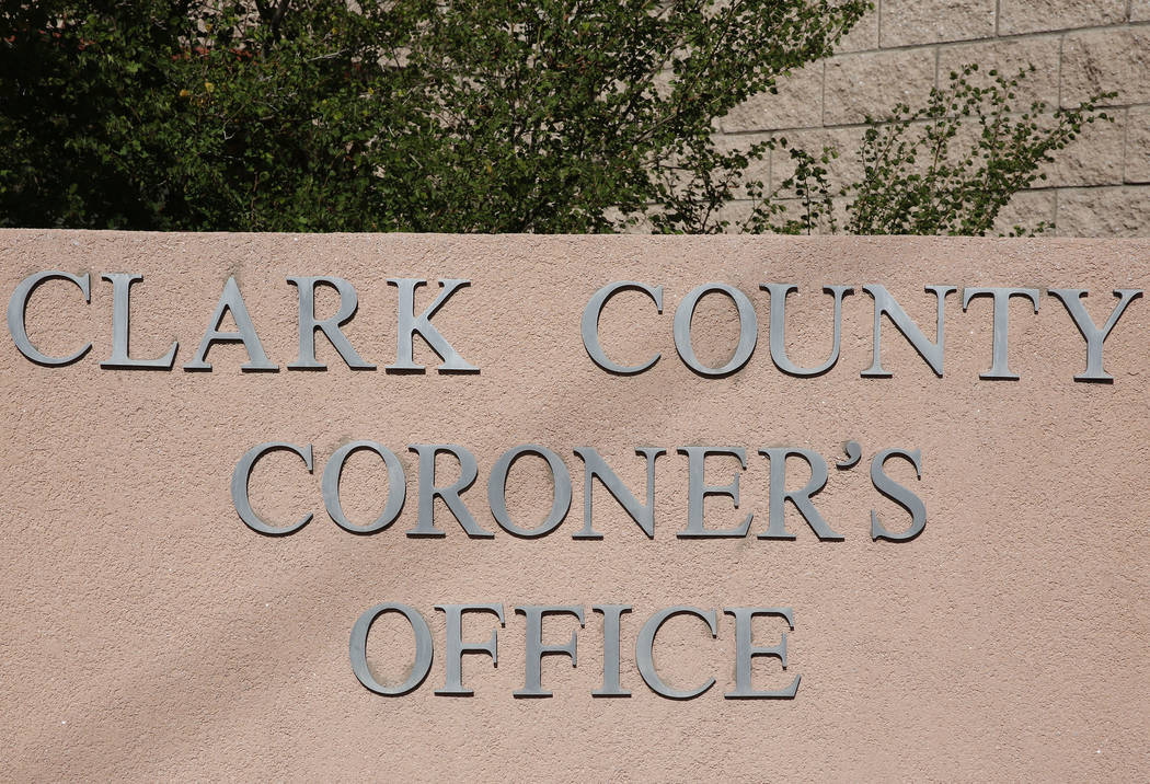 The Clark County Coroner and Medical Examiner office located at 1704 Pinto Lane in Las Vegas. (Bizuayehu Tesfaye, Las Vegas Review-Journal @bizutesfaye)