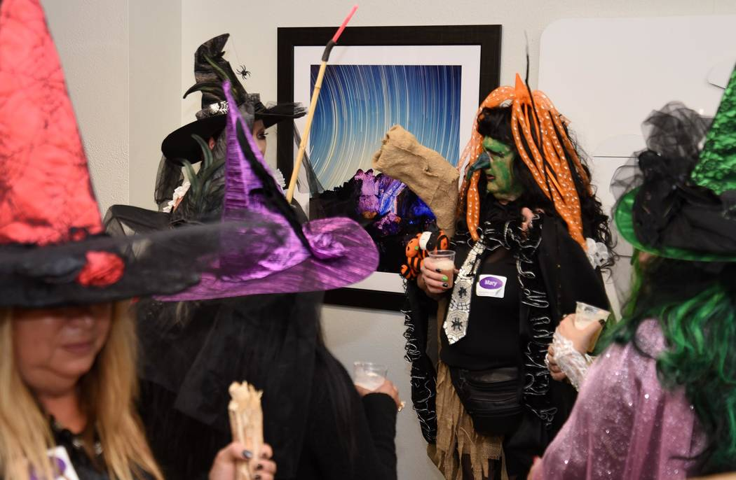Richard Stephens/Special to the Pahrump Valley Times The Beatty community was home to a witches walk last week.