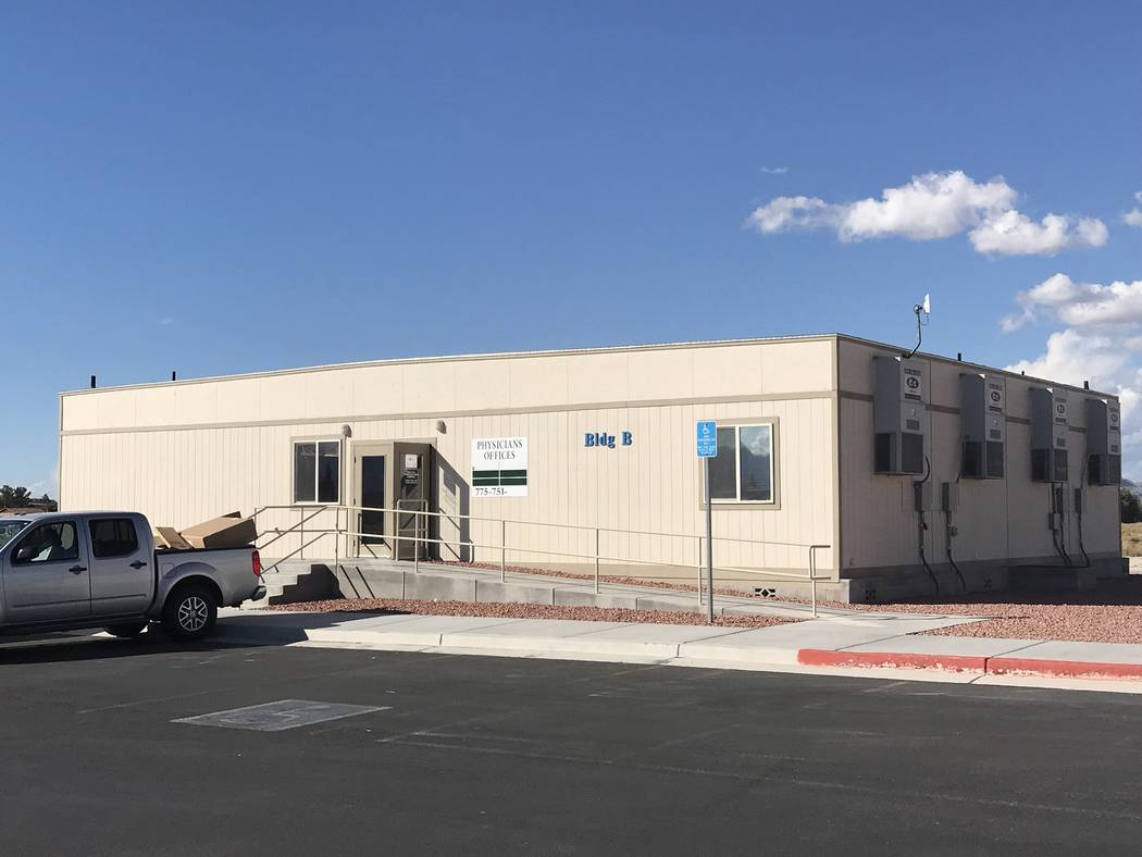 Jeffrey Meehan/Pahrump Valley Times Las Vegas-based P3 Health Partners is launching its first primary care clinic in Nye County with a grand opening celebration planned from 9-11 a.m. on Tuesday. ...