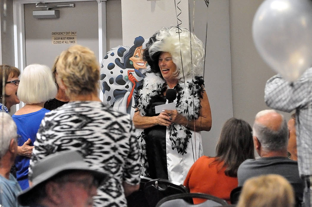 Horace Langford Jr./Pahrump Valley Times - Big smiles and lots of laughter were a main feature at the Rotary Club's 2018 Cash Extravaganza.