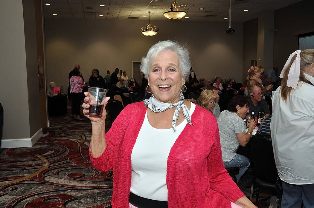 Horace Langford Jr./Pahrump Valley Times Willi Baer celebrated her retirement from CASA, as well as her birthday during a party hosted Oct. 20.