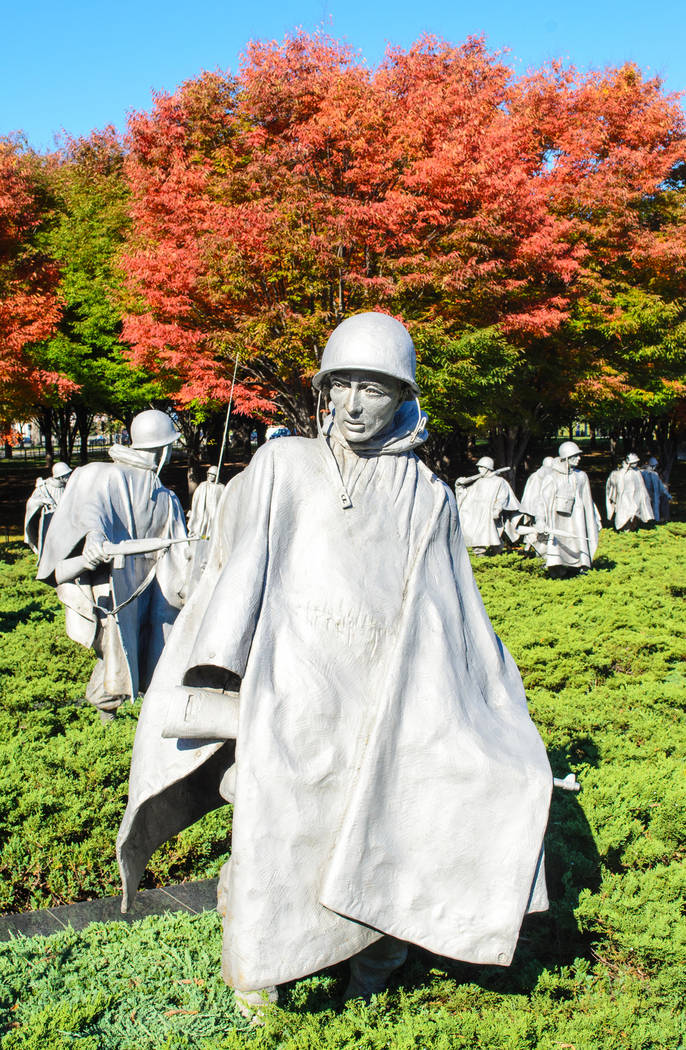 Thinkstock The Korean War Memorial was particularly touching for veteran Leroy Hofer, who served during the war aboard a U.S. Navy vessel.