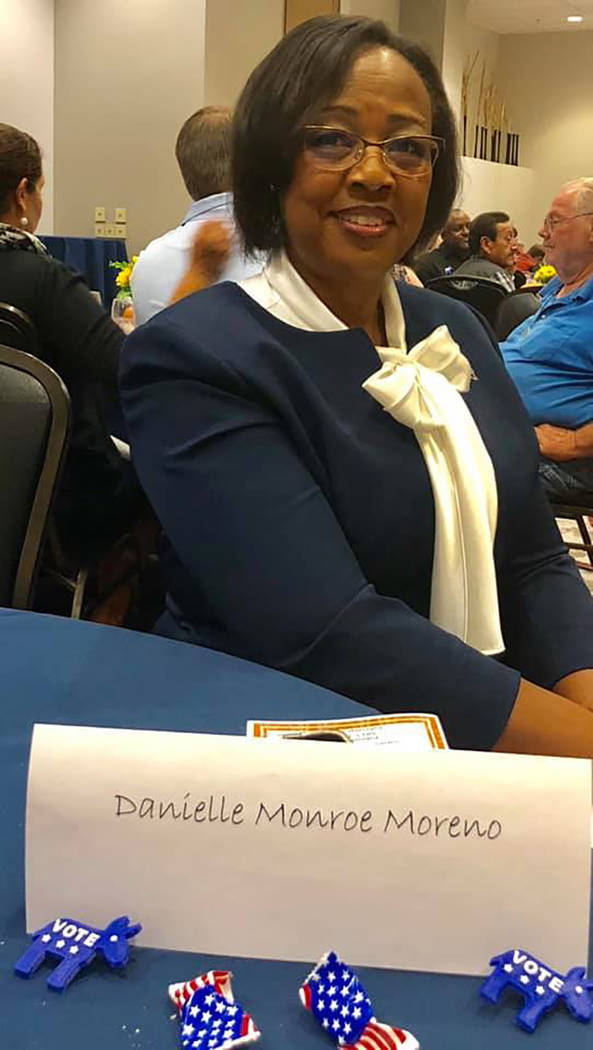 Special to the Pahrump Valley Times There were several Democratic candidates present at the Nye County Democrats' biggest fundraiser, including Nevada Assembly District 1 representative Danielle M ...