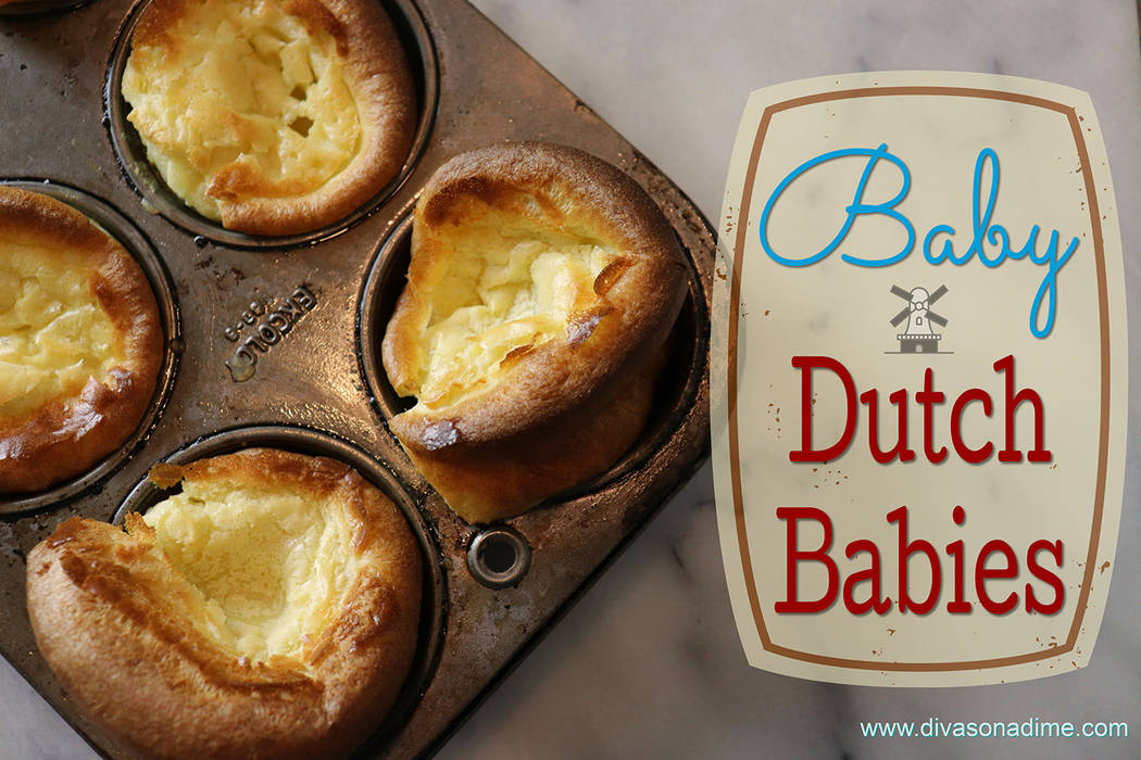 Patti Diamond/Special to the Pahrump Valley Times Like a popover or Yorkshire pudding, it's made with a simple batter and they're great any time of the day, breakfast, brunch, lunch, or as a d ...
