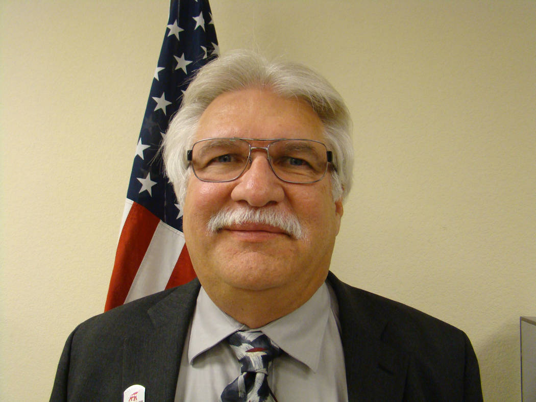Special to the Pahrump Valley Times Nye County Republican Central Committee Chairman Joe Burdzinski will seek appointment to Nevada Assembly District 36 is Republican nominee Dennis Hof, who recen ...