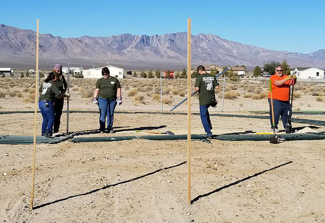 Home Depot Grant Benefits Freedom Reins Ranch In Pahrump Pahrump Valley Times