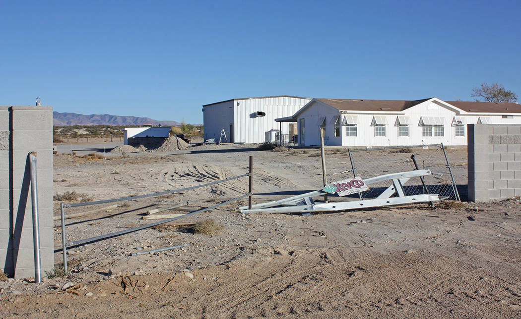 Robin Hebrock/Pahrump Valley Times Nevada Natural Medicines will open is marijuana cultivation and production facility at 6041 S. Hafen Ranch Road.