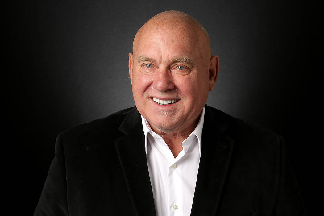 Michael Quine/Las Vegas Review-Journal Dennis Hof, Republican candidate for Nevada State Assembly District 36, is photographed at the Las Vegas Review-Journal offices on Monday, August 20, 2018.