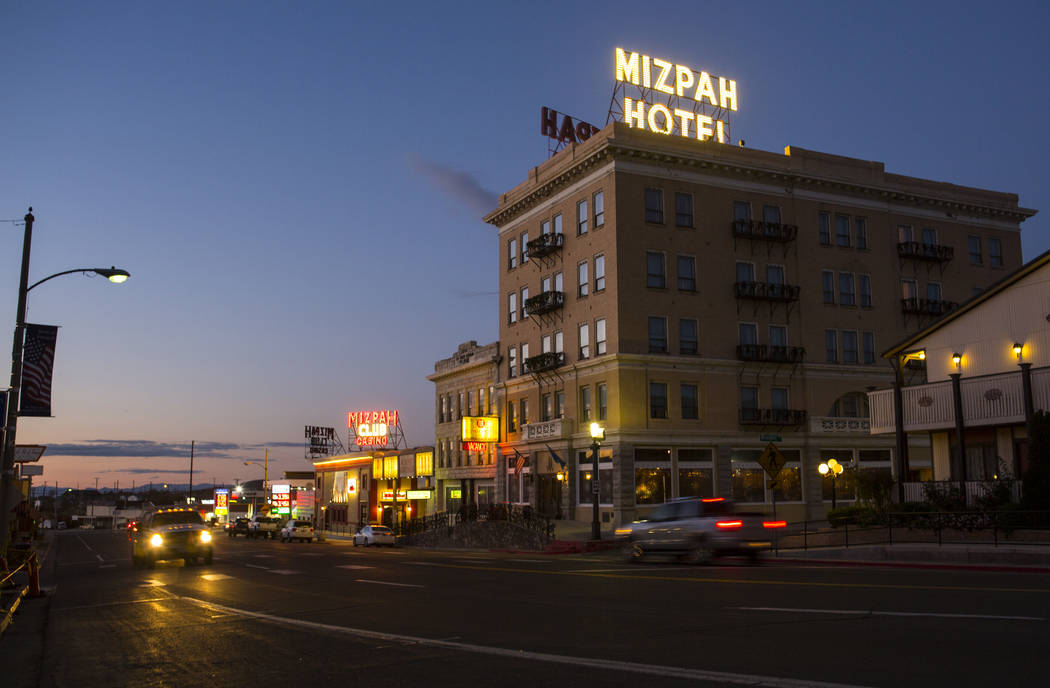 """Chase Stevens Las Vegas Review-Journal The Mizpah Hotel will play host to two ghostly adventures on Nov. 16 and Nov. 17. The hotel will host a """"Dinner with a Ghost"""" affair that starts at 7 p.m. an ..."""