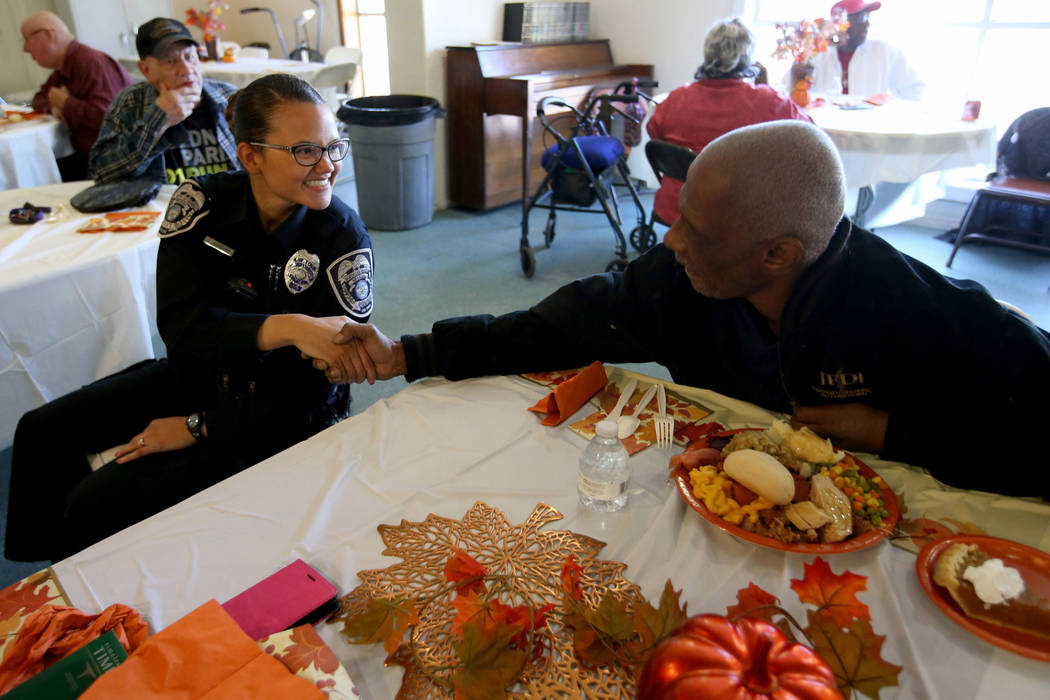 K.M. Cannon/Las Vegas Review-Journal It's helpful to reflect on what the Thanksgiving holiday is about, columnist Tim Burke writes.