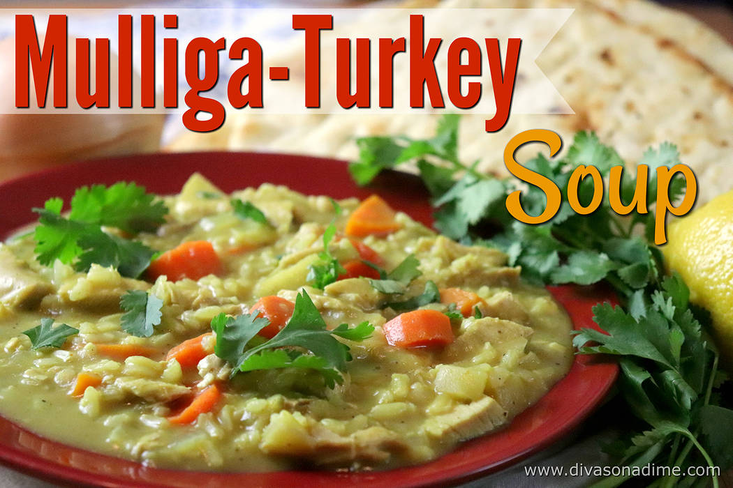 Special to the Pahrump Valley Times Columnist Patti Diamond writes that the recipe is rich with the warming spices of autumn like clove but with turkey, carrot and apples.