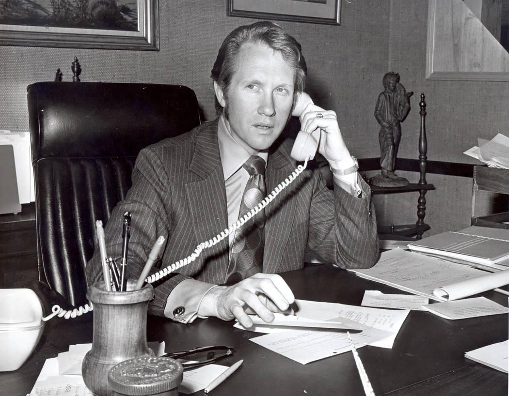 Nevada Lt. Governor, Harry Reid (Photo by D'Abern)