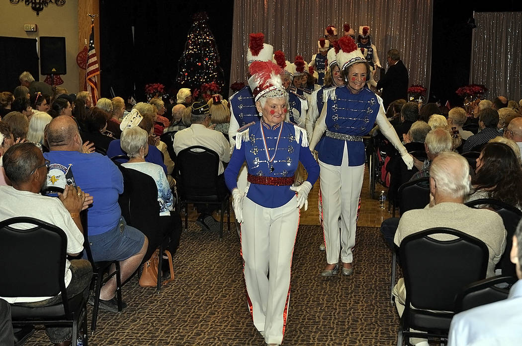 """Horace Langford Jr./Pahrump Valley Times The """"Wooden Soldiers"""" routine always capps off the Nevada Silver Tappers annual Christmas Benefit Show. Last year the show brought in more than $4,000 for ..."""
