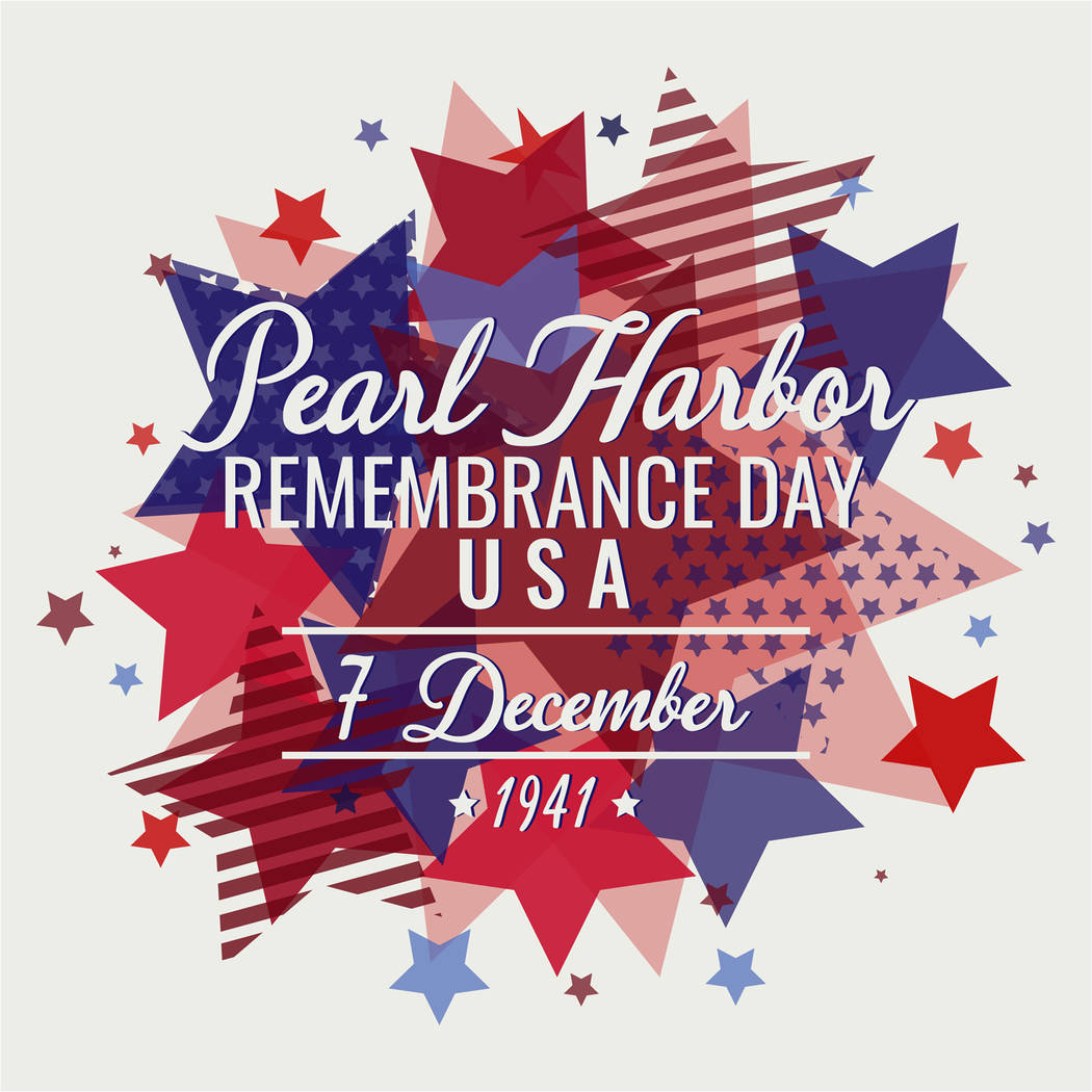 Thinkstock Pearl Harbor Remembrance Day in Pahrump will be observed at the veterans memorial on Dec. 7.