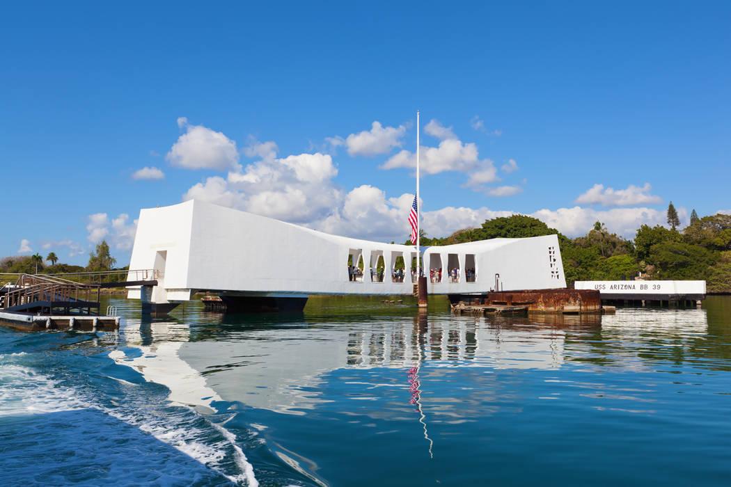 Thinkstock The USS Arizona Memorial in Pearl Harbor, Hawaii.