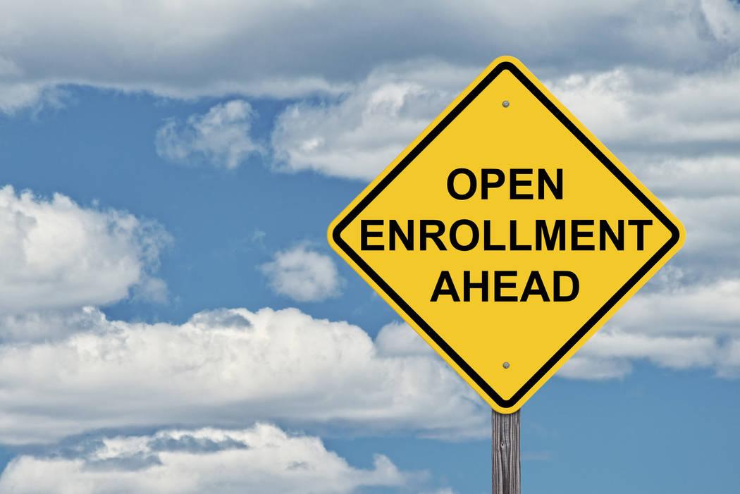 Thinkstock Medicare open enrollment is open through Dec. 7 for plans that begin in 2019.