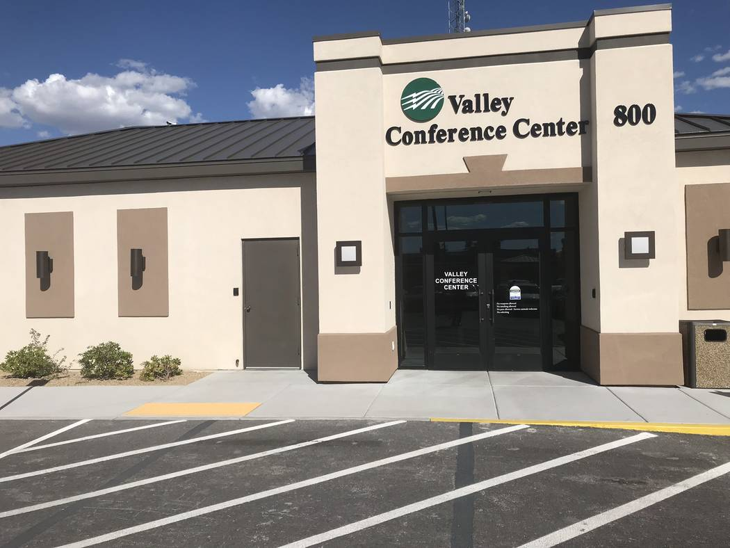 Jeffrey Meehan/Pahrump Valley Times Angela Evans, newly appointed CEO at Valley Electric Association Inc., launched her meet and greet tour in early December at the Valley Electric's conference ce ...