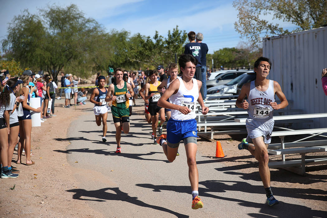 Erik Verduzco/Las Vegas Review-Journal The University of Nevada, Reno, has decided to add men's cross country as a varsity sport and discontinue rifle at the end of the current academic year.