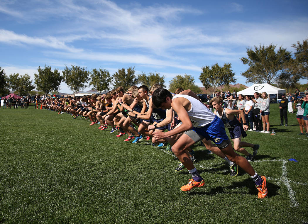 Erik Verduzco/Las Vegas Review-Journal Men's cross country again will be a varsity sport at the University of Nevada, Reno, beginning next fall as the university voted to reinstate it and disconti ...