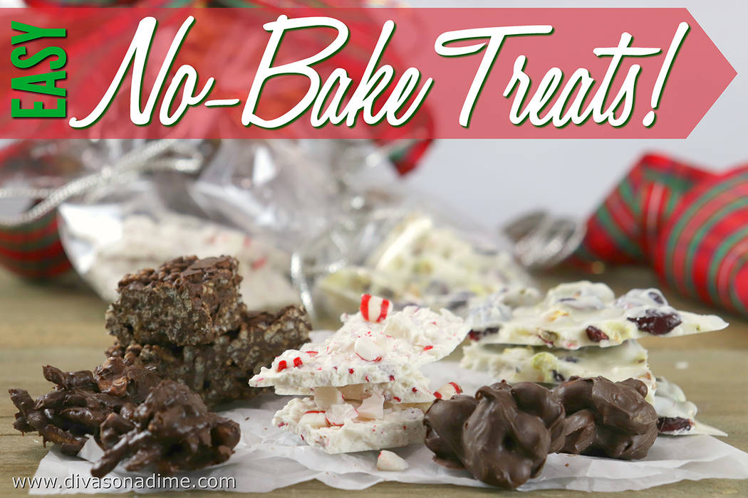 Patti Diamond/Special to the Pahrump Valley Times These quick and easy no-bake treats come together in 20 minutes or less. They are perfect for treating friends and neighbors or taking to a party.