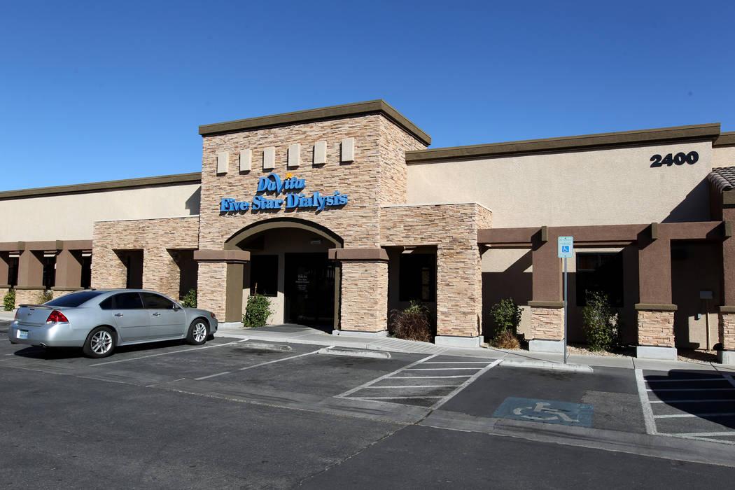 DaVita Five Star Dialysis Center is shown at 2400 Tech Center Ct. near Smoke Ranch Road in Las Vegas Thursday, Feb. 15, 2018. K.M. Cannon Las Vegas Review-Journal @KMCannonPhoto