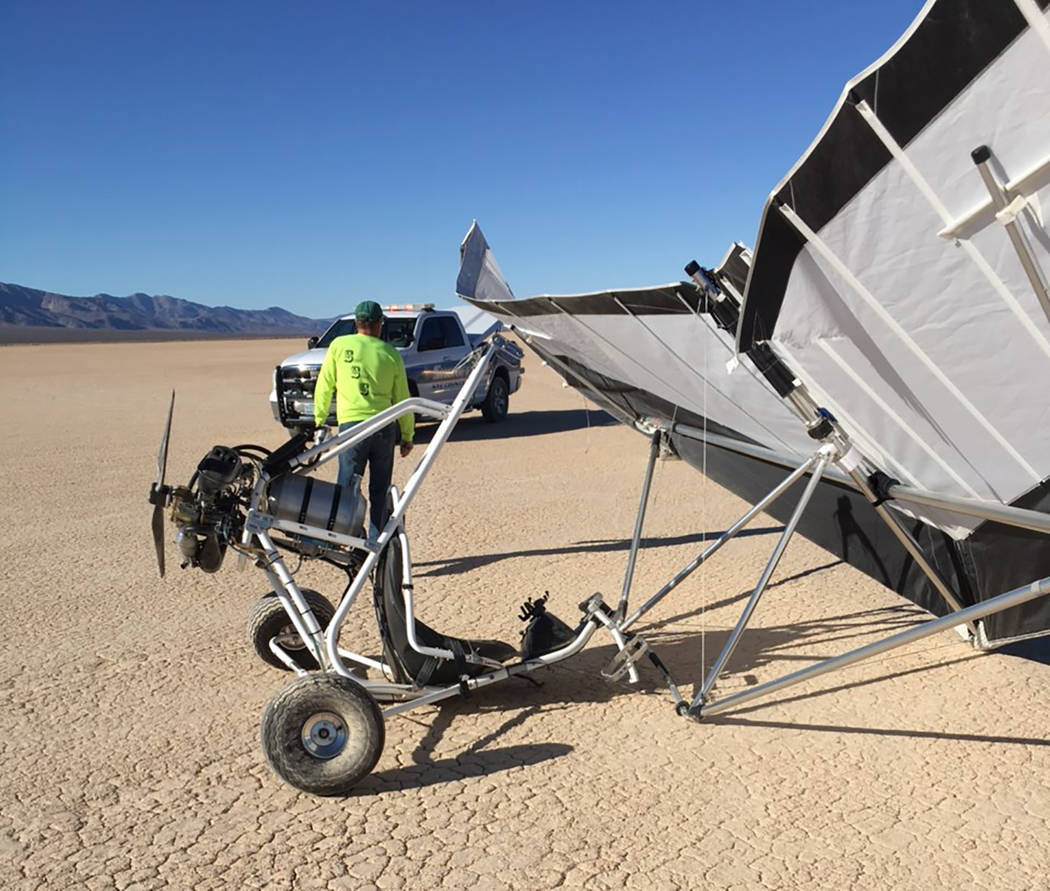 Special to the Pahrump Valley Times The newly purchased ultra-light aircraft, according to authorities was about 15 feet in the air when the pilot made an error while performing what's known as a ...