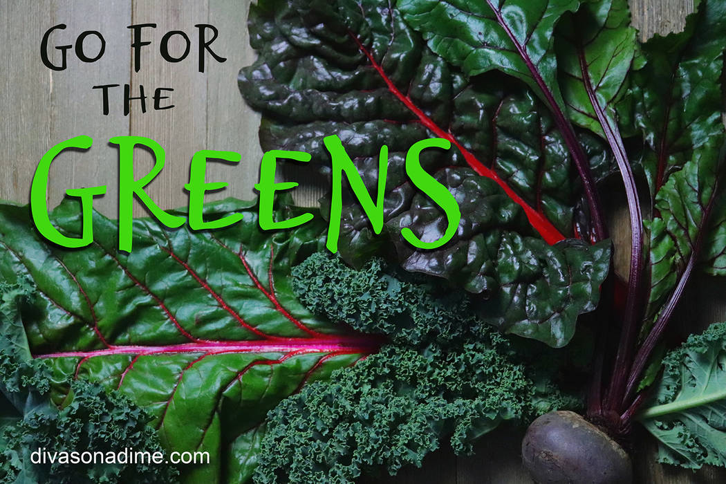 Patti Diamond/Special to the Pahrump Valley Times There are many delectable greens that are amazingly flavorful and so packed with nutrition, they're super greens. They can be steamed, sautéed, ...