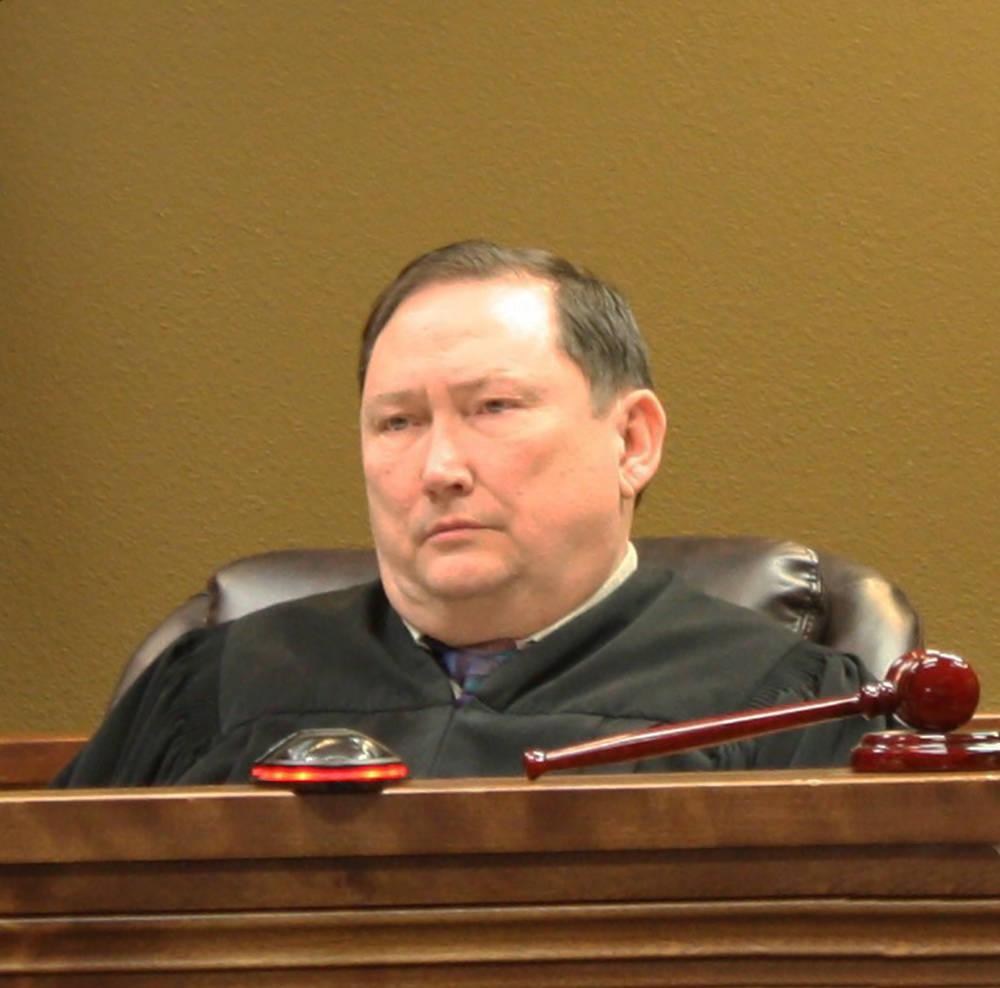 Robin Hebrock/Pahrump Valley Times Fifth Judicial District Court Judge Robert Lane.