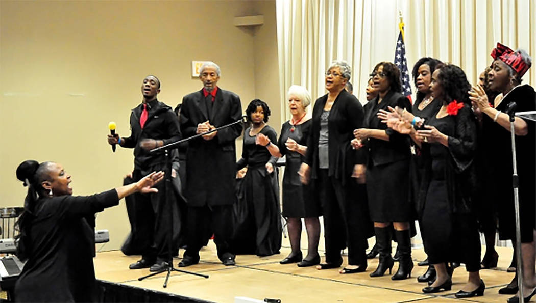 """Selwyn Harris/Pahrump Valley Times Vocal, musical and dance performances have been a mainstay of the MLK Day """"All People's Day"""" celebration since 2002 in Pahrump. The event returns on Monday, Jan ..."""