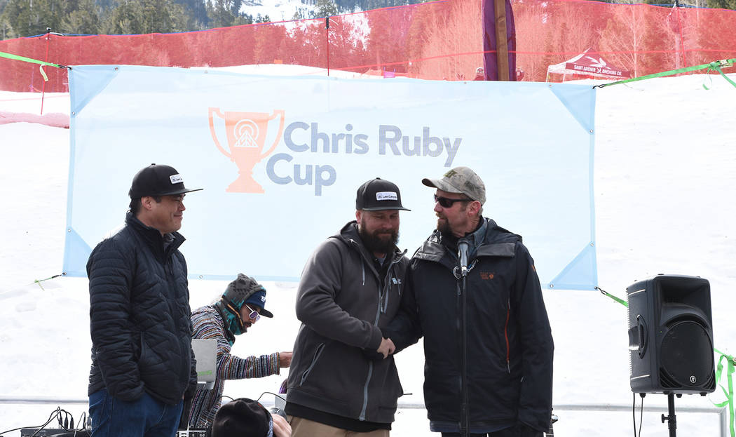 Special to the Pahrump Valley Times The Ruby Cup at Lee Canyon celebrates the life of Christopher Ruby, an organ donor who has helped almost 100 people since his 2014 death at age 20.